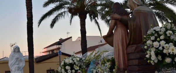 Santa Ana procesionó un año más por Gibraleón