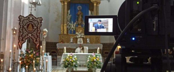 La Parroquia retransmite en directo los Cultos de la Hermandad del Rocío
